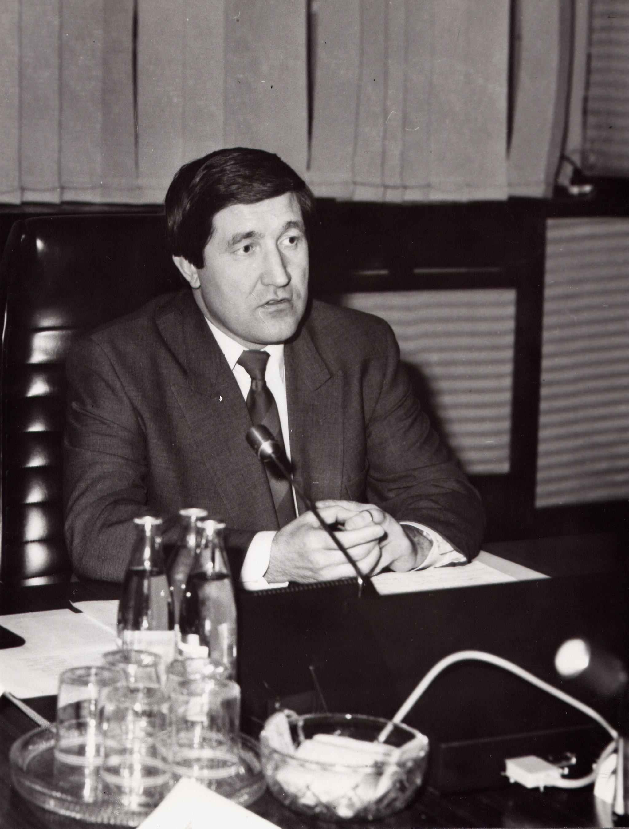 Министр топлива и энергетики; 1993 г.