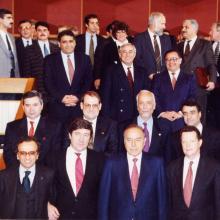 После подписания «контракта века»; Баку, сентябрь 1994 г.